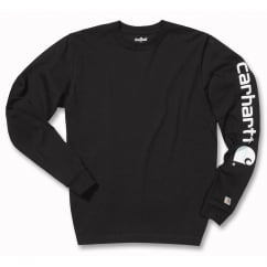 Ek231 Sleeve Logo Long Sleeve T Shirt