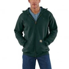 K122 Zip Hooded Sweatshirt Canopy Green - Size: M *One Size Only - Outlet Store*