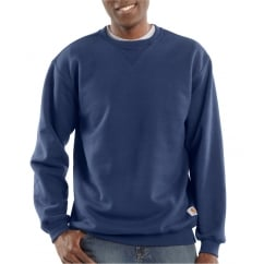 K124 Midweight Crewneck Sweatshirt New Navy - Size: M *One Size Only - Outlet Store*