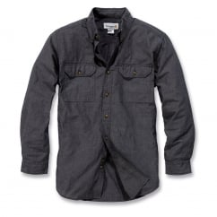 S202 L/S Fort Solid Shirt Black Chambray Size: L *One Size Only - Outlet Store*