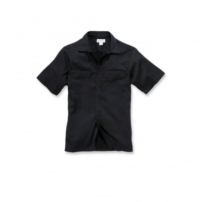 Carhartt S223 Twill Work Shirt S/S Navy - Size: S *One Size Only - Outlet Store*