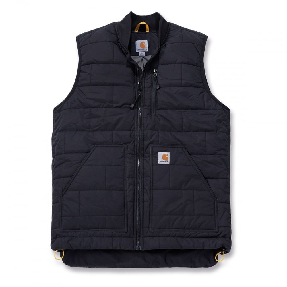 bf0b6da5d76 Carhartt Workwear 100740 Nylon Brookville Vest Black - Size: S *One Size  Only - Outlet Store*