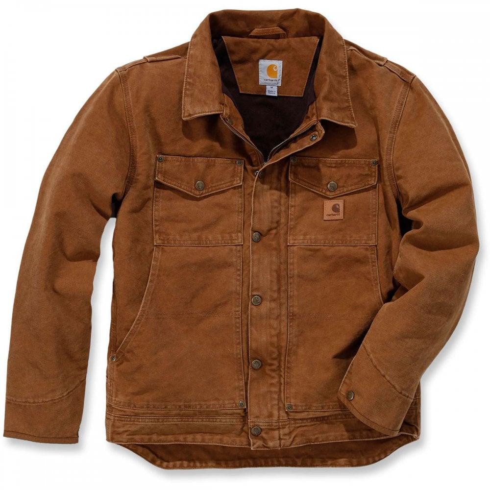 e8194e74c2 Carhartt 101230 Sandstone Berwick Jacket | MI Supplies