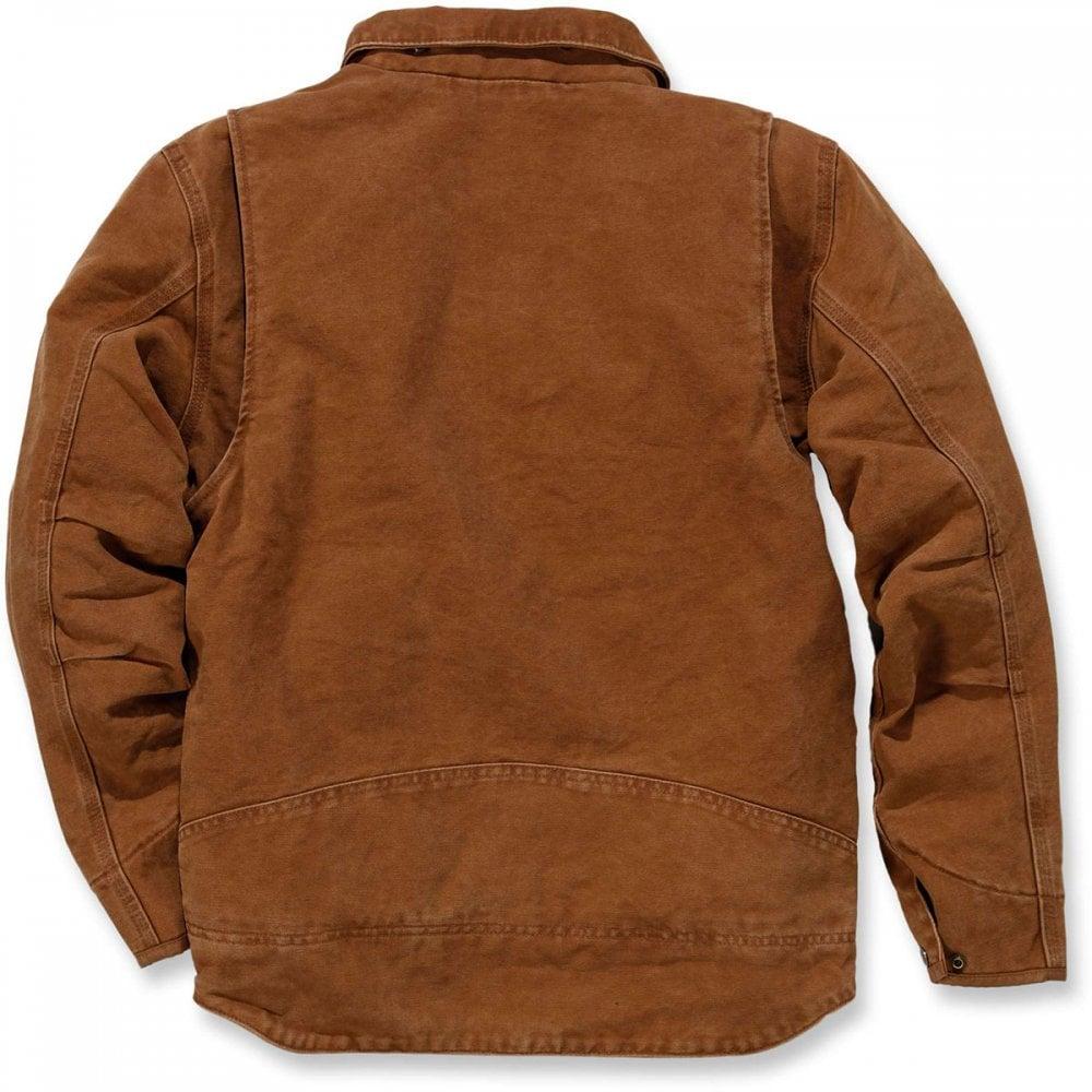 04ed46f7a72 Carhartt 101230 Sandstone Berwick Jacket | MI Supplies
