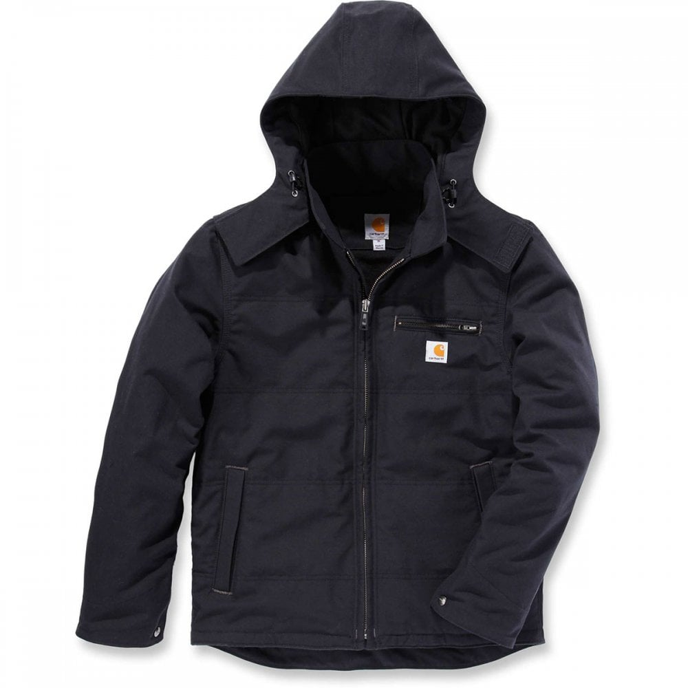 c920bece339 Carhartt Workwear 101441 Qd Livingston Jacket Black - Size: XL *One Size  Only - Outlet Store*