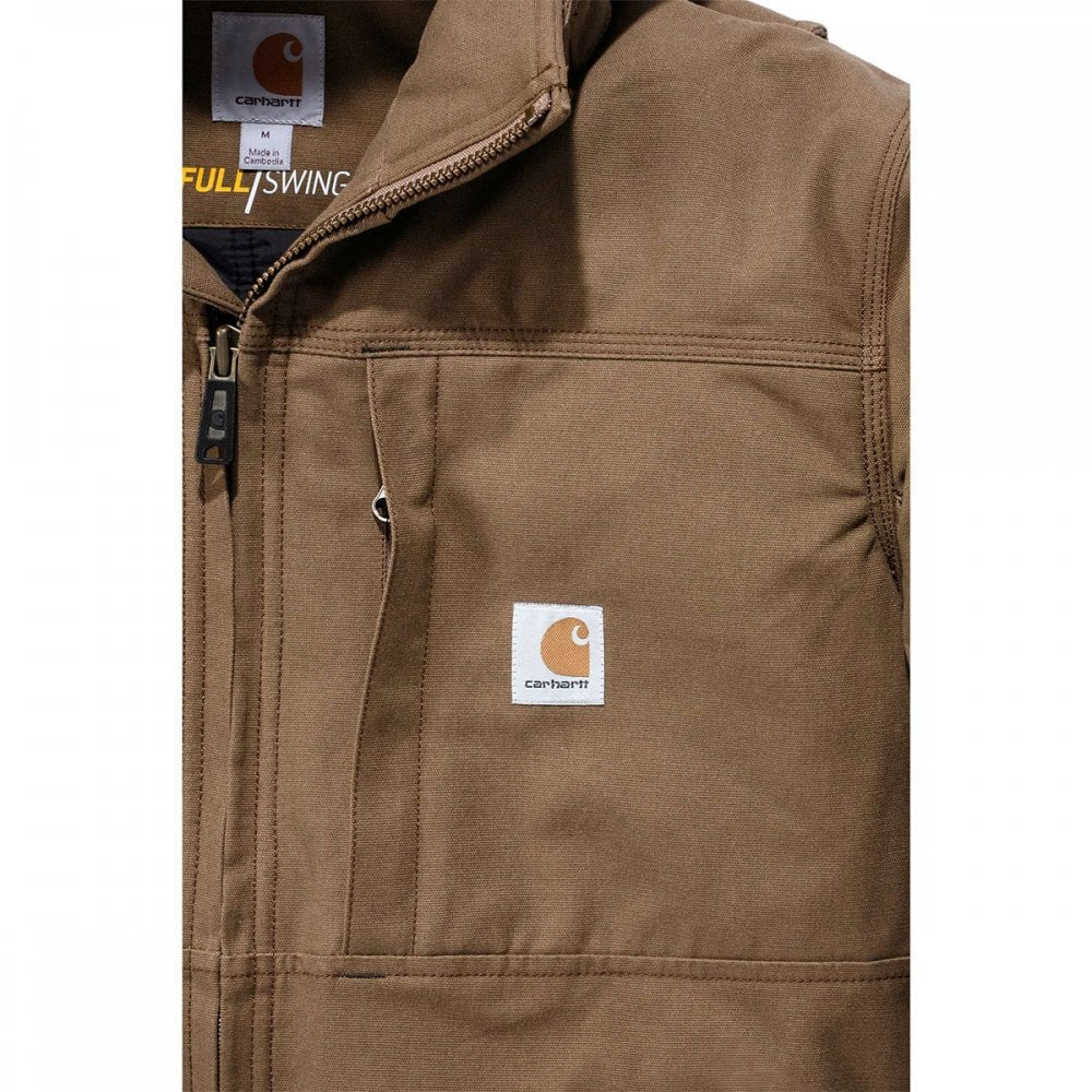 102207 QD Full Swing Cryder Jacket Canyon Brown Size: 2XL *One Size Only -  Outlet Store*