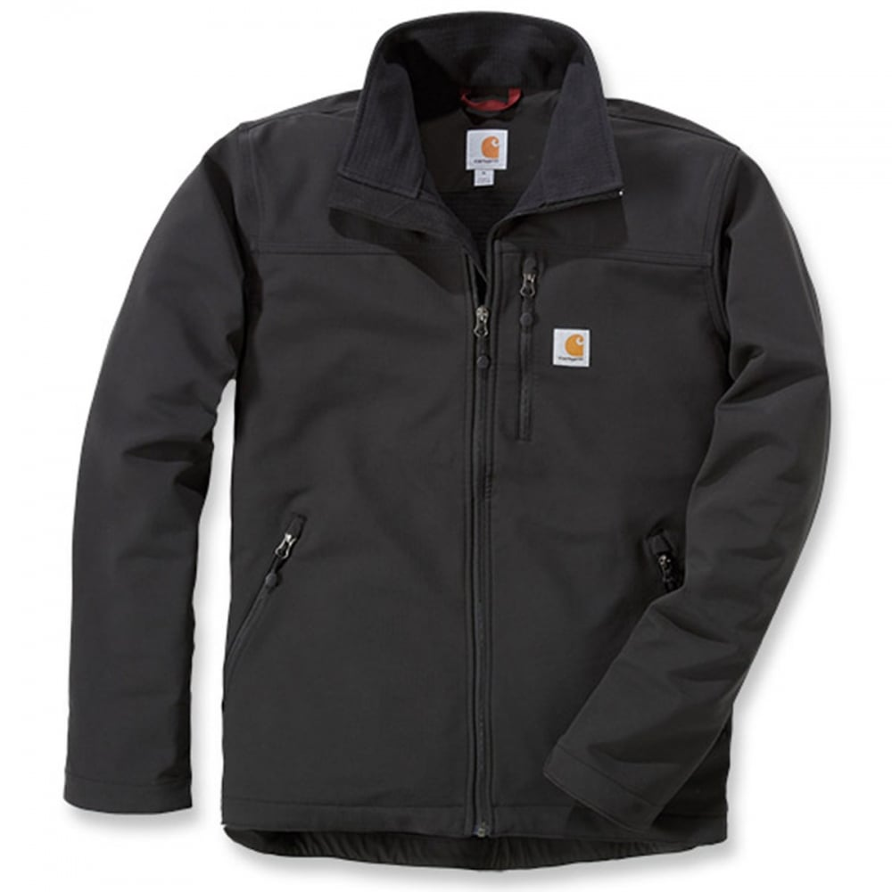 26119aebae9 Carhartt Workwear 102233 Denwood Soft Shell Jacket Black S *One Size Only - Outlet  Store*