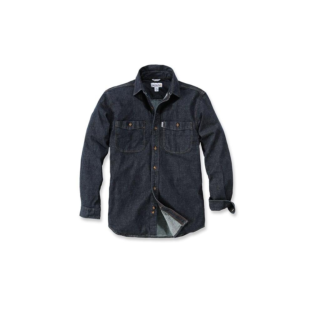 390e508f4c8 Carhartt Workwear 102257 Long Sleeve Rugged Flex Patten Denim Shirt -  Clothing from M.I. Supplies Limited UK