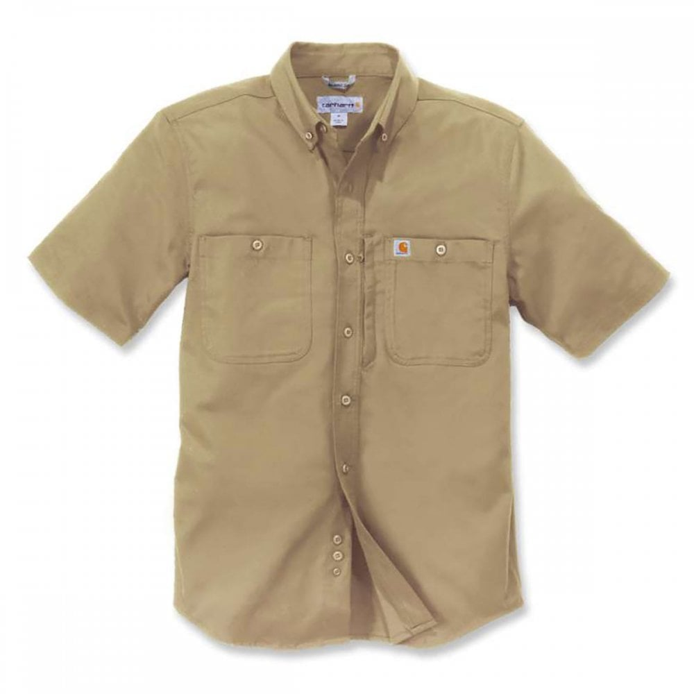20d017c0353 Carhartt Workwear 102537 Rugged Professional Workshirt Short Sleeve Navy  Size: S *One Size Only - Outlet Store* - Outlet Store from M.I. Supplies  Limited UK