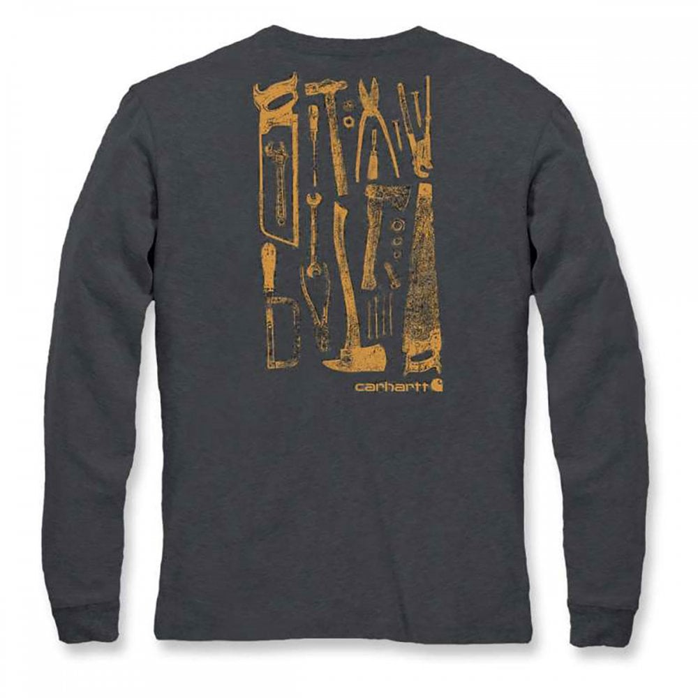 0b32f6d632 Carhartt Workwear 103305 Maddock Graphic Tool Long Sleeve T-Shirt ...