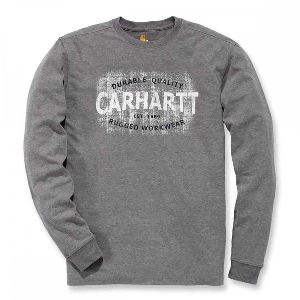 7aaf8c221e41 Carhartt Workwear 103357 Graphic Rugged Workwear T-Shirt Long Sleeve ...