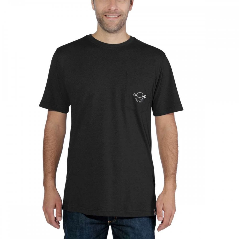 4f9047d399 103565 Maddock Strong Graphic Pocket Short Sleeve T-Shirt
