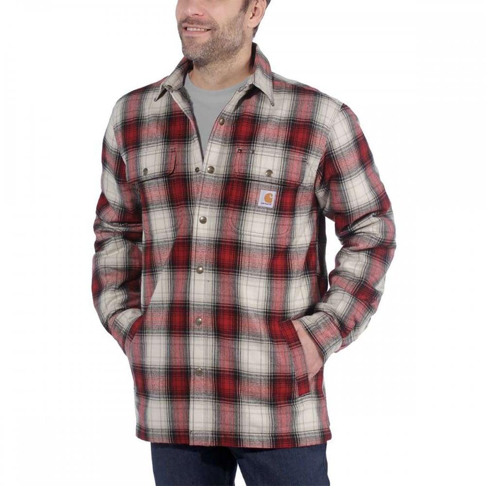 ekskluzywny asortyment sprzedaż hurtowa spotykać się 103821 Hubbard Sherpa Lined Shirt Jacket Relaxed Fit