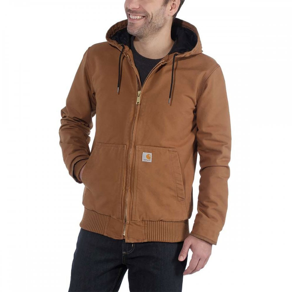 Carhartt Workwear 104050 Duck Active Jacket Clothing From M I Supplies Limited Uk