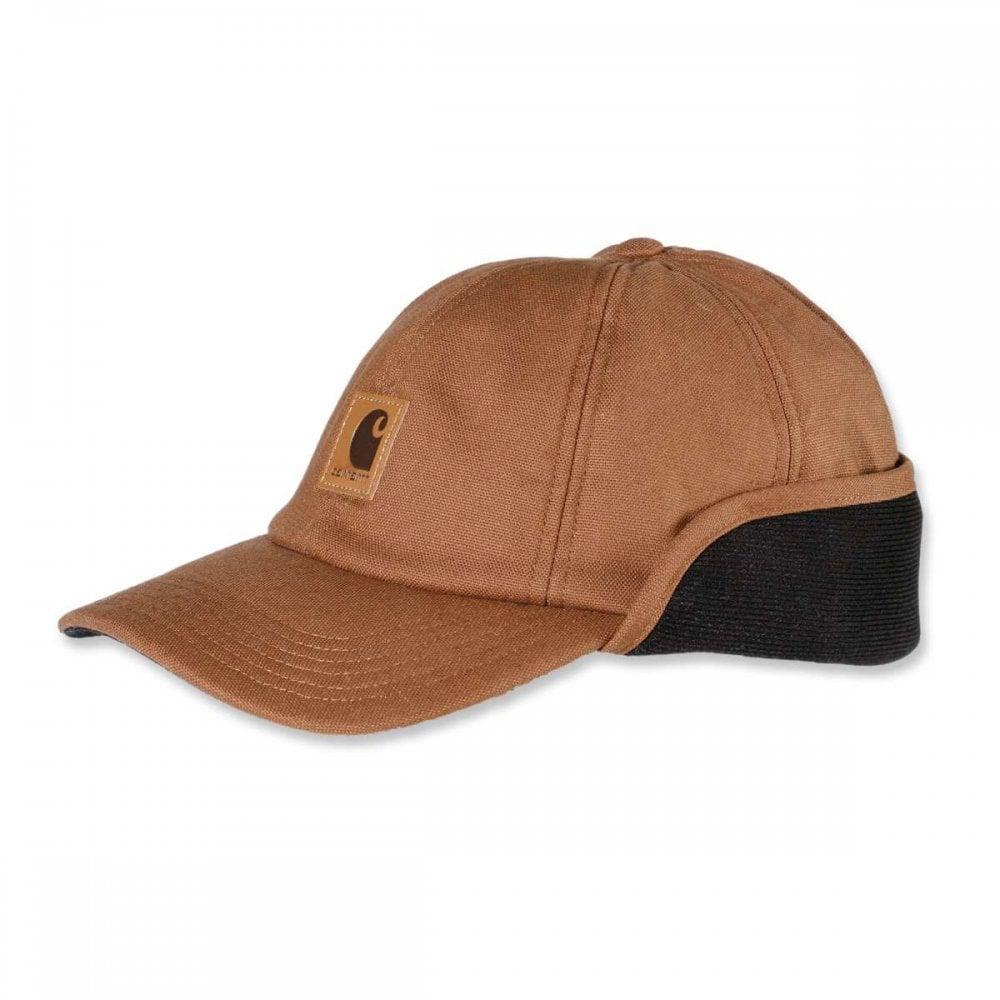 c97dc9ab399 Carhartt Workwear A199 Work Flex Ear Flap Cap - Clothing from M.I. ...