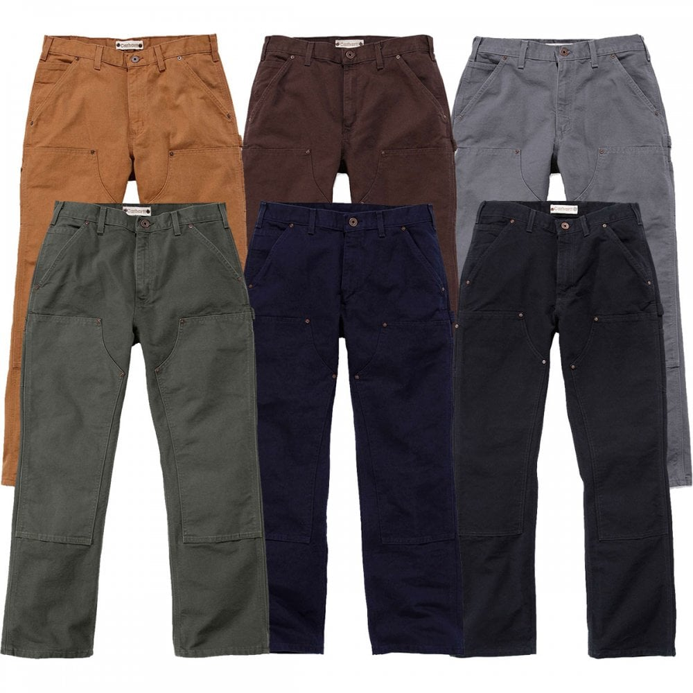 8066142bbbe Carhartt Workwear EB136 Double Front Work Pant - Clothing from M.I. ...