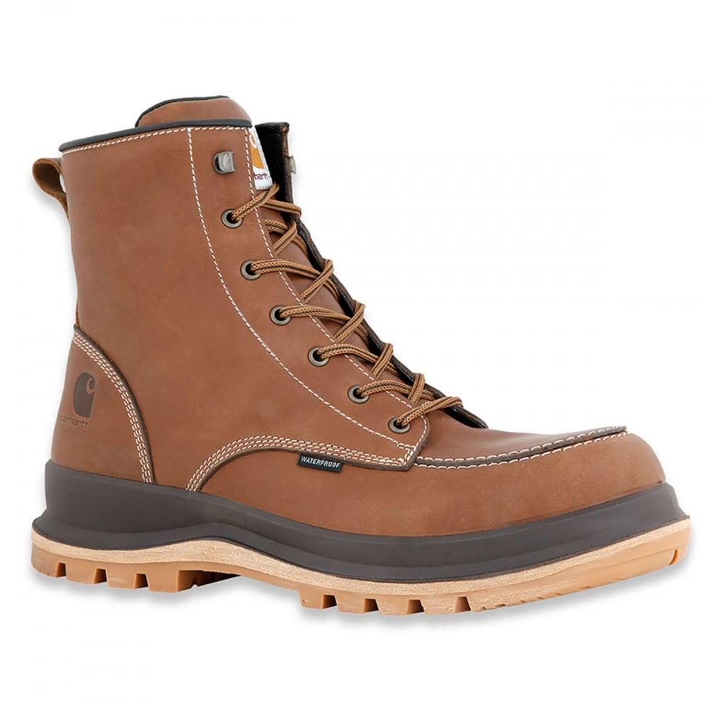 97f7479d6eb5 Carhartt Workwear F702901 Hamilton S3 Waterproof Wedge Boot Tan - Footwear  from M.I. Supplies Limited UK