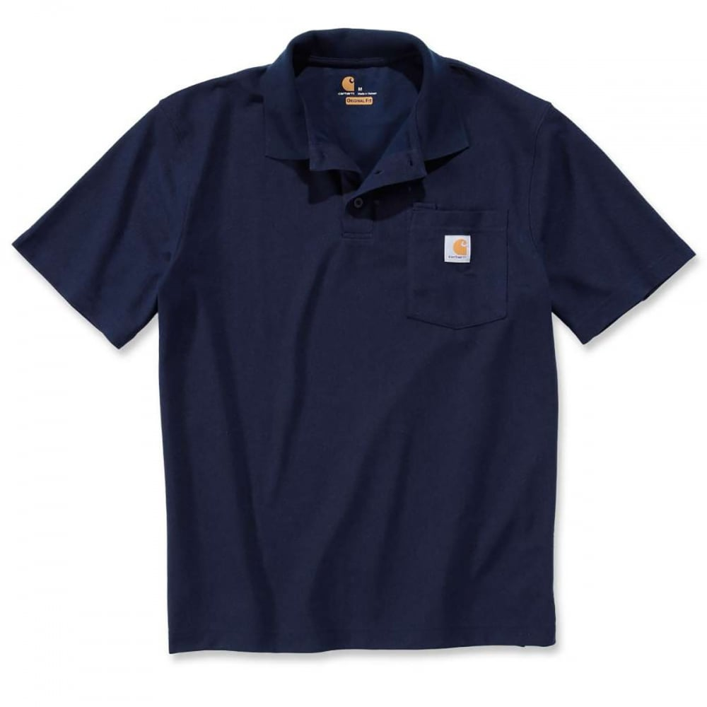bf2e6732 Carhartt Workwear K570 Work Pocket Polo Short Sleeve Shirt ...