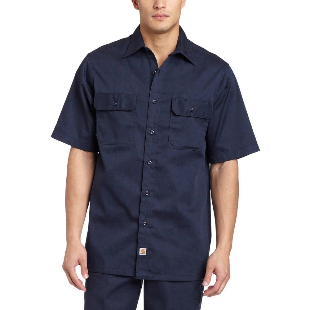 81230710e68f Carhartt Workwear S223 Twill Work Shirt Short Sleeve - Clothing from ...