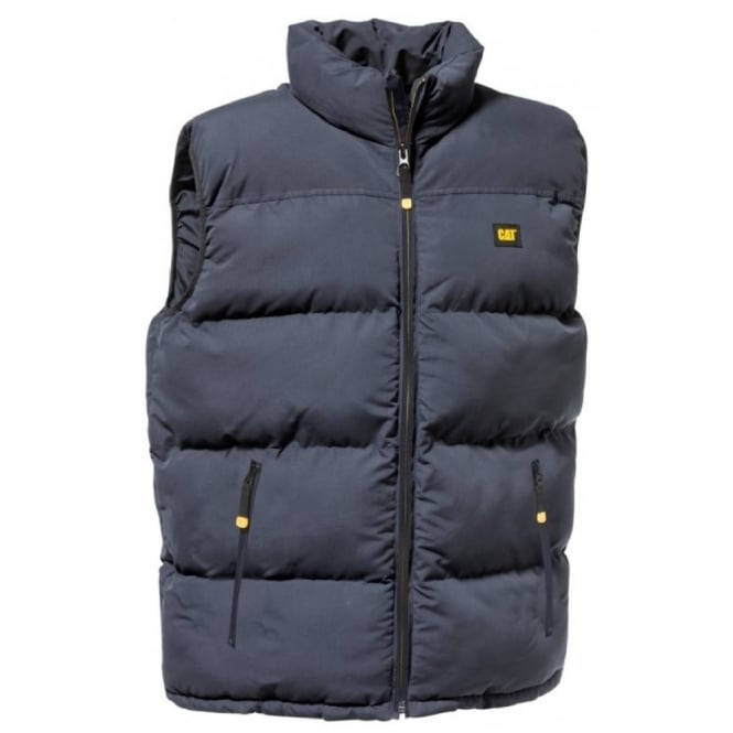Caterpillar Arctic Zone Vest Navy - Size: XL *One Size Only - Outlet Store*