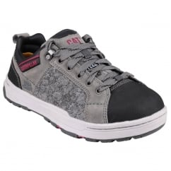 Brode Canvas Safety Trainer Grey Size: 7 *One Size Only - Outlet Store*