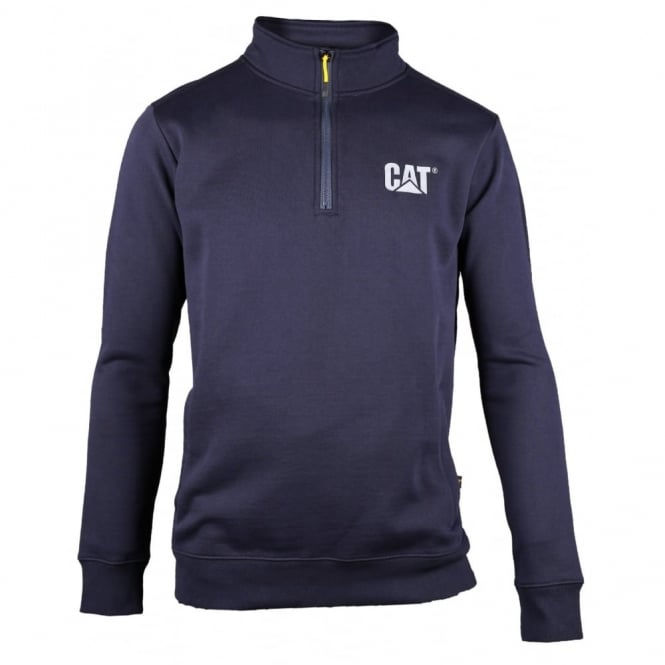 Caterpillar Canyon 1/4 Zip Sweatshirt Navy - Size: XL *One Size Only - Outlet Store*