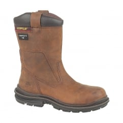 CAT Olton Rigger Brown Rigger Boots