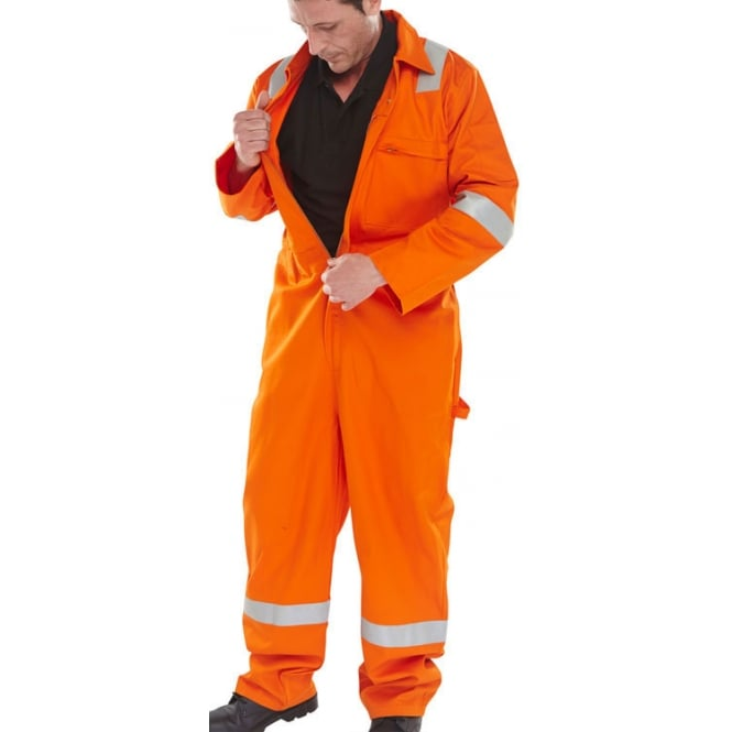 Click Fireretardant Flame Retardant Anti-Static Erskine Boilersuit