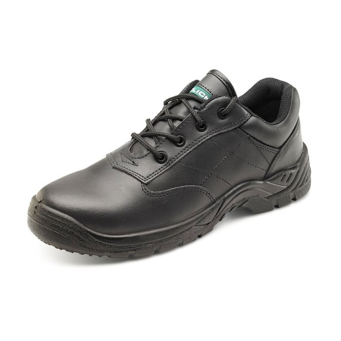 Click Footwear Composite Safety Work Shoe S1P Black - Size: 9 *One Size Only - Outlet Store*