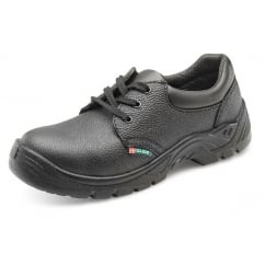 Dual Density Safety Work Shoe Black - Size: 8 *One Size Only - Outlet Store*