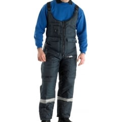 Coldstar Cold-Store Freezer Bib Brace Trousers
