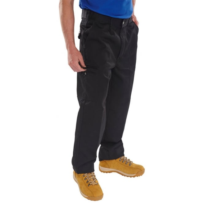 Click Heavyweight Super Polycotton 9Oz Trousers