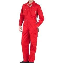 Boilersuit Overall Action Back Design