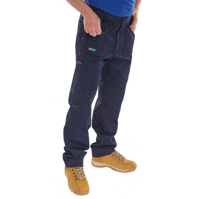 Click Workwear Action Work Combat Trousers