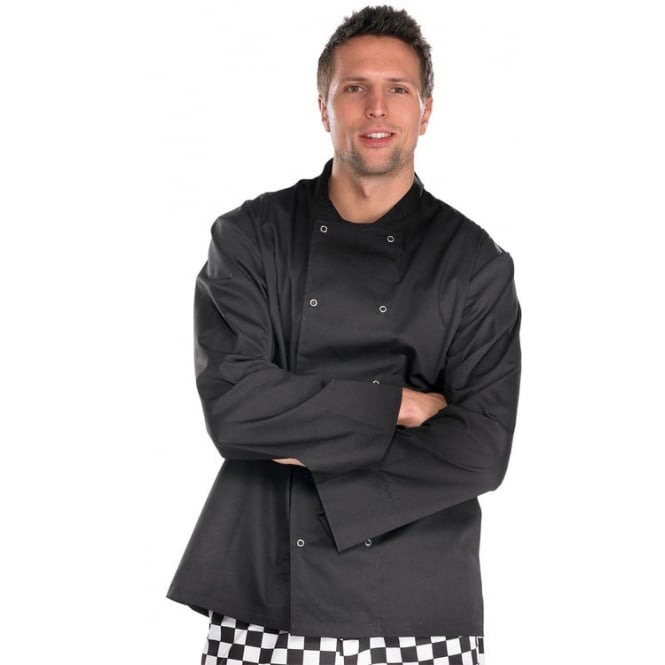 Click Workwear Chefs Jacket Long Sleeved