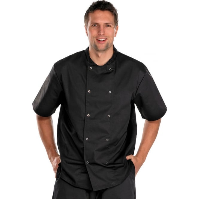 Click Workwear Chefs Jacket Short Sleeve