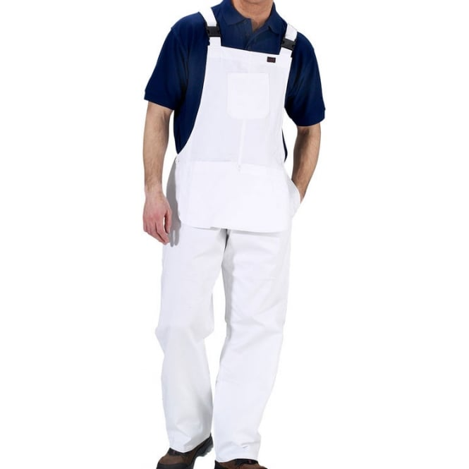 Click Workwear Cotton Drill Bib & Brace Coverall