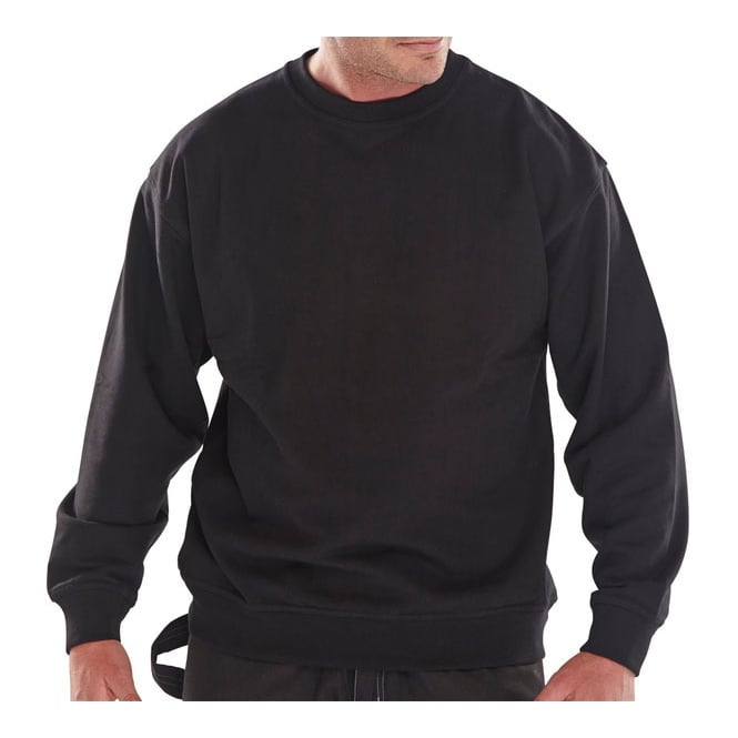 Click Workwear Polycotton Sweatshirt