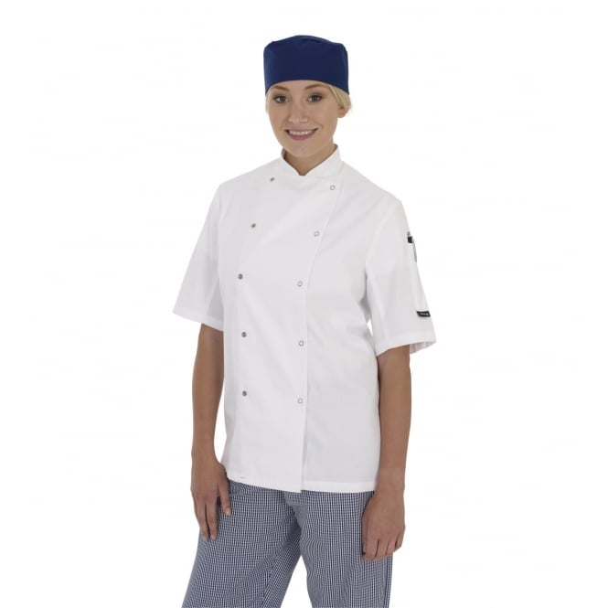 Dennys DD08S Short Sleeve Chef's Jacket