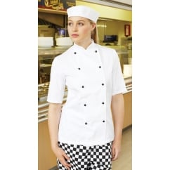 DD20S Lightweight Short Sleeve Chefs Jacket