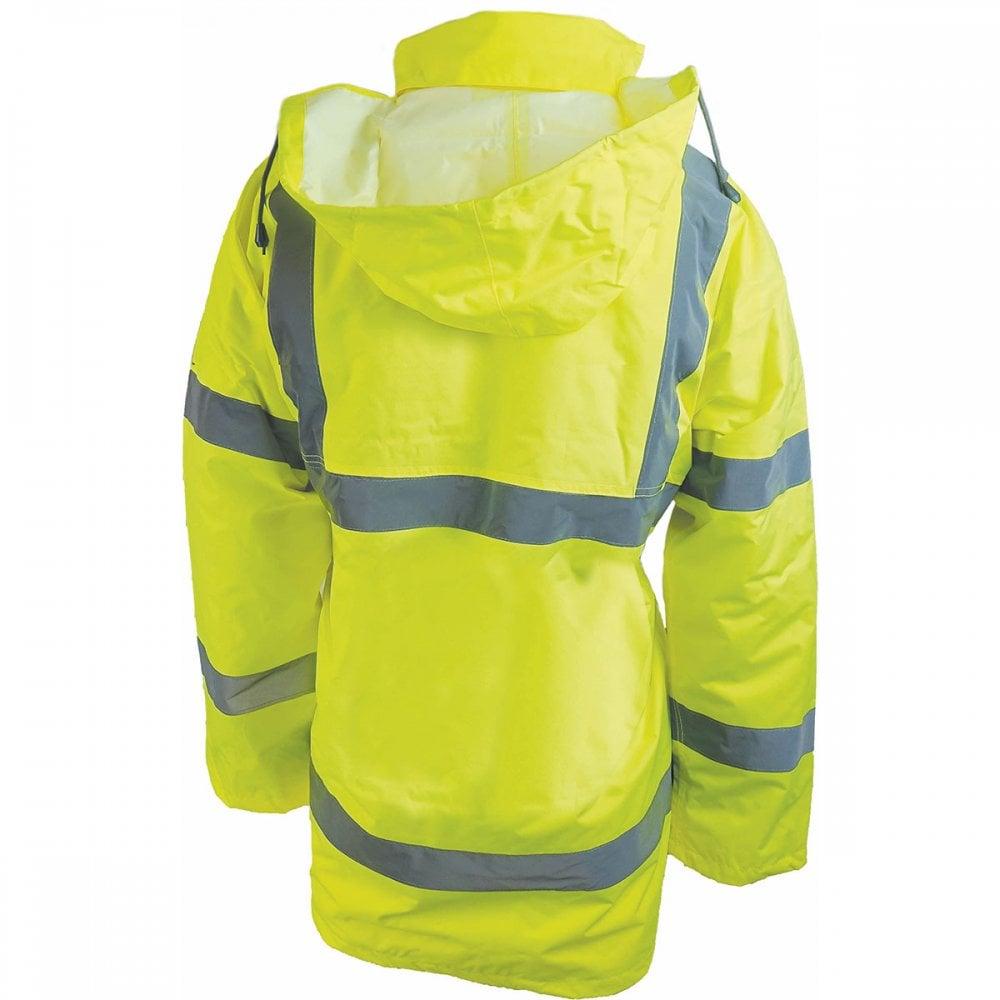 Dickies Motorway Jacket High Visibility SA22045 Hi Viz Yellow