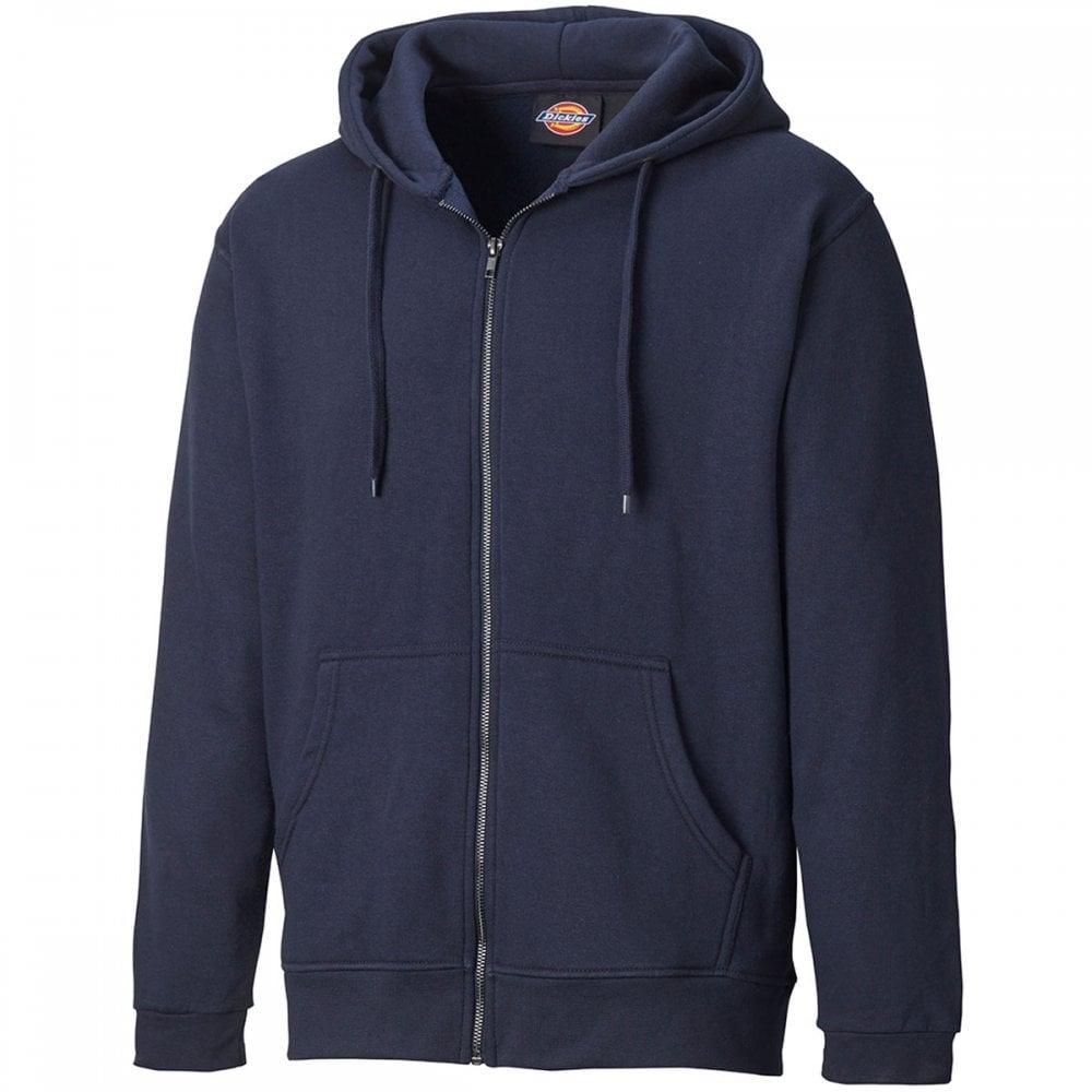 Dickies Redwood Hoodie Mens Hooded Work Full Zip Sweatshirt Jumper SH11500