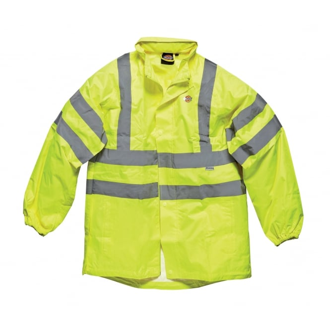 Dickies Workwear SA22042 Hi-Vis Lightweight Jacket Coat