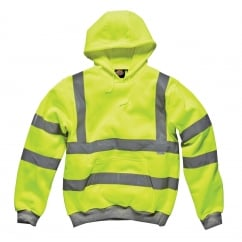 SA22090 Hi-Vis Hooded Sweatshirt