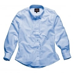 SH64300 Ladies Womens Oxford Long Sleeve
