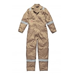 WD2279LW Cotton Coverall Boilersuit Lightweight Khaki Size: 2XL *One Size Only - Outlet Store*