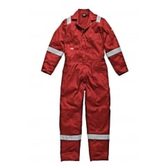 WD2279LW Cotton Coverall Boilersuit Lightweight Red Size: L *One Size Only - Outlet Store*