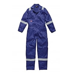 WD2279LW Cotton Coverall Boilersuit Lightweight Royal Blue Size: L *One Size Only - Outlet Store*