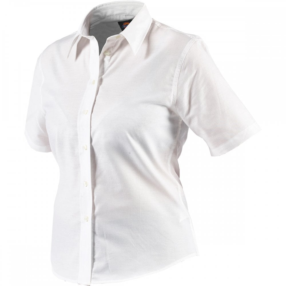 29ba32317 Dickies Workwear Womens Short Sleeve Oxford Shirt - Clothing from ...