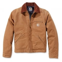 EJ001 Duck Detroit Jacket Carhartt Brown M *One Size Only - Outlet Store*